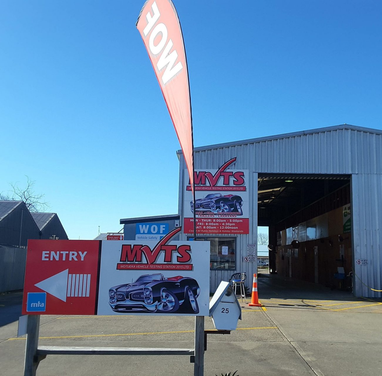 Motueka Vehicle Testing Station 2015 Ltd